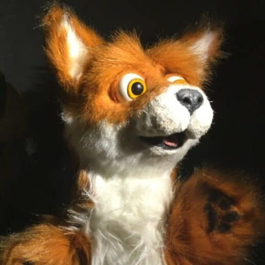 Just Kidding- Wonderspark Puppets Fox Fables