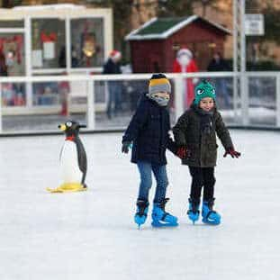 Pop-up Ice Skating Rink